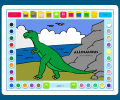 Coloring Book 2: Dinosaurs Screenshot 0