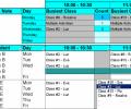 Create Student Class Schedules Screenshot 0