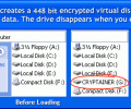 Cryptainer LE Free Encryption Software Screenshot 0