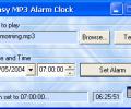 Easy MP3 Alarm Clock Screenshot 0