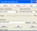 Easy MP3 Sound Recorder Screenshot 0