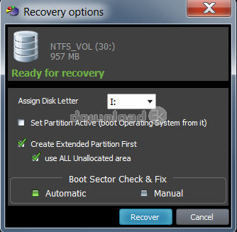 torrent active partition recovery for windows