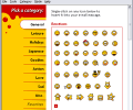 Emoticons Mail Screenshot 0