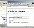 ActiveSocket Network Communication Toolkit Screenshot 0