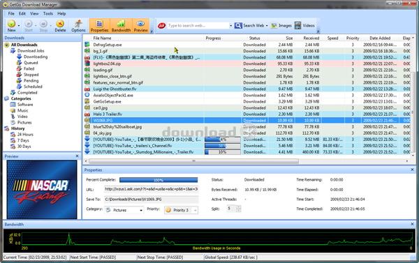 GetGo Download Manager 4 8 5 1687 d3k Review & Alternatives