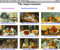 Great Works of Art/The Impressionists Screenshot 0
