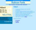 Hilbert Font Type1 Screenshot 0