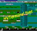 HVTerminal TrueType Terminal Font Screenshot 0