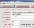 IDAutomation File Replicator Screenshot 0