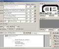 MemDB Envelope Printing System Screenshot 0