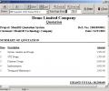 MemDB Quotation System Screenshot 0