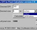 Mihov DPI to Pixel Calculator Screenshot 0