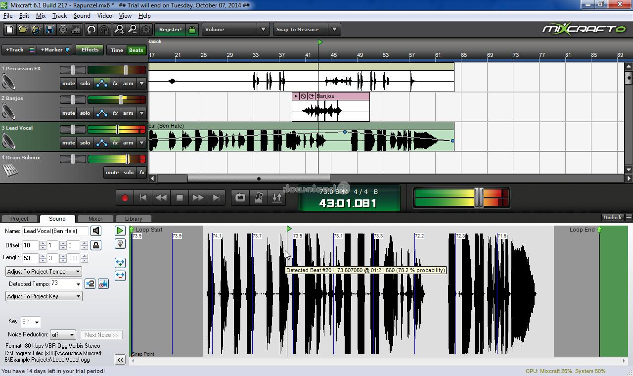 mixcraft 7.0 free download