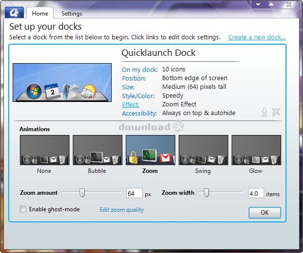 ObjectDock 1 9 Review & Alternatives - Free download - Free
