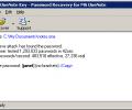 OneNote Password Recovery Key Screenshot 0