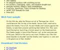 Opulent Font TrueType Screenshot 0