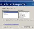 Outlook Express Backup Wizard Screenshot 0
