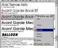 Font Xplorer Screenshot 0