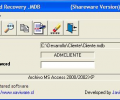 Password Recovery .MDB Screenshot 0