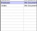 Pocket Database Viewer Plus(Access,Excel,Oracle) Screenshot 0