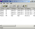 Reflector Database Manager Screenshot 0