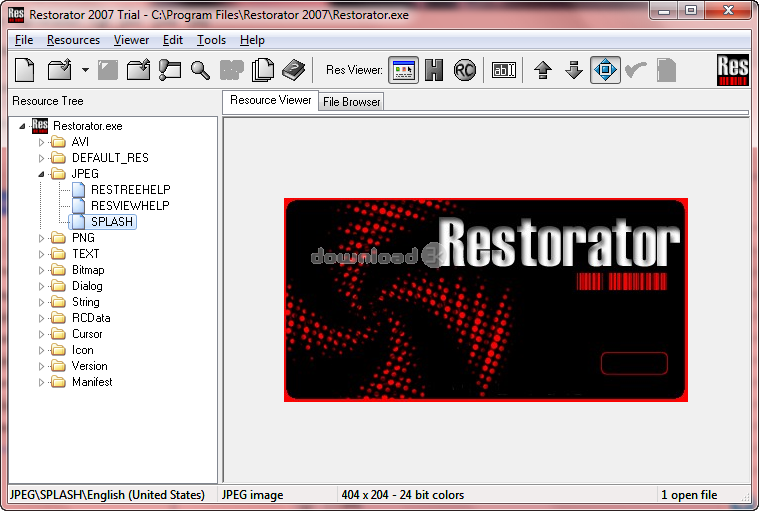 Restorator 2007 U2 Review & Alternatives - Free trial download ... ... Restorator Screenshot 3 ...
