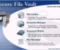 Secure File Vault Screenshot 0