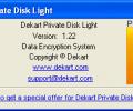 Dekart Private Disk Light Screenshot 0