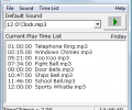 TimeChimes Automated Audio Player Screenshot 0
