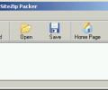 WebSiteZip Packer Screenshot 0