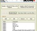 Hide My Folders ActiveX Screenshot 0