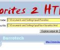 Favorites 2 HTML Screenshot 0
