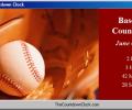 T-Minus Baseball Countdown Screenshot 0