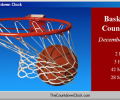 T-Minus Basketball Countdown Screenshot 0