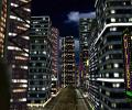 Night City 3D Screensaver Screenshot 0