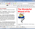 eBooksWriter GOLD create ebook Screenshot 0