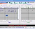 Man-Hours Calculator Screenshot 0