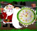 7art Santa Claus Clock ScreenSaver Screenshot 0