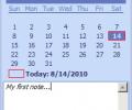Desktop Calendar Reminder Screenshot 0