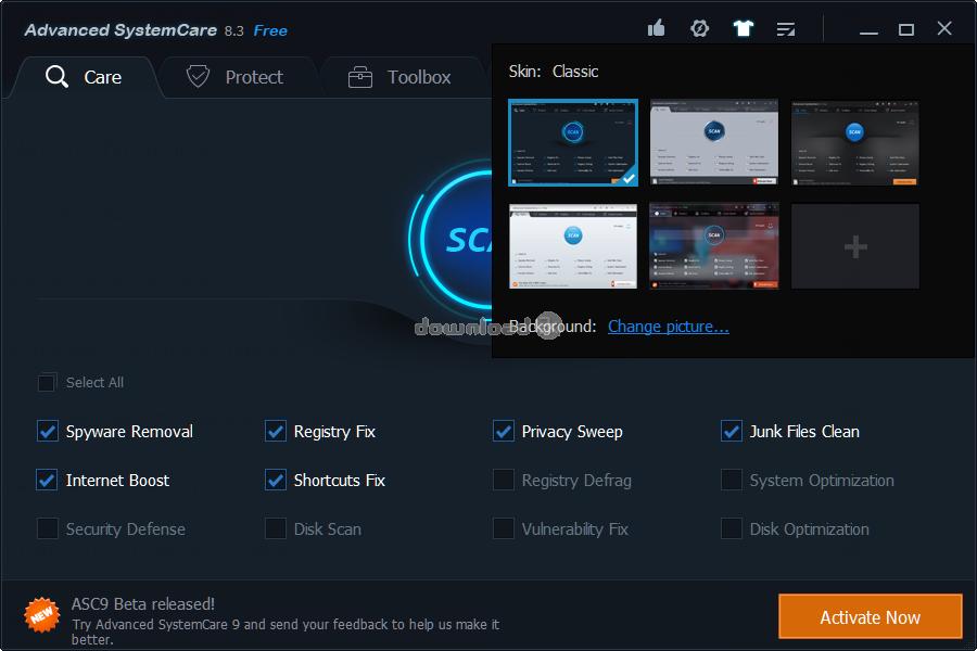 advanced systemcare 9 beta 3.0 serial key