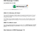 MSN Messenger 7.5 InfoPack Screenshot 0