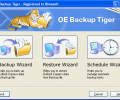 Outlook Express Backup Tiger Screenshot 0