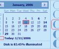 Desktop Lunar Calendar Screenshot 0