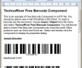 TechnoRiver Free Barcode Software Component Screenshot 0