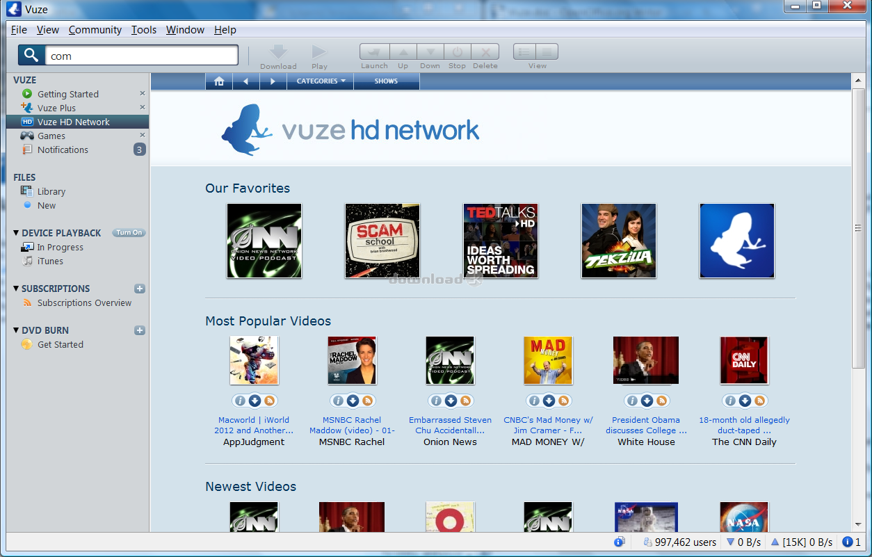 Download Vuze_Installer32 exe Free - Vuze Bittorrent Client 5 7 6 0