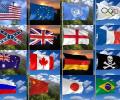 3D Realistic Flag Screensaver Screenshot 0