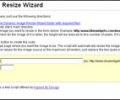Dynamic Image Resize Wizard Screenshot 0