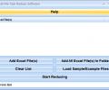 Excel File Size Reduce Software Screenshot 0