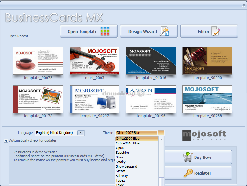 Download businesscardsmx setupexe free trial businesscards mx 50 businesscards mx screenshot 1 businesscards mx screenshot 2 reheart Choice Image