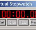 Virtual Stopwatch Presentation Screenshot 0